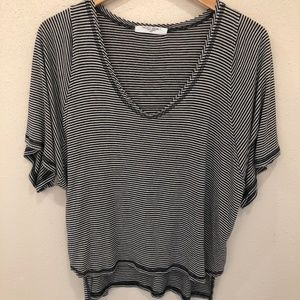 Urban Outfitters Project Social T Stipe Shirt